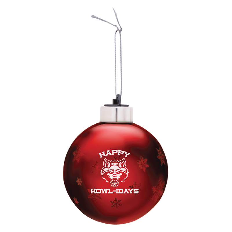 Happy Howl-idays Light Up Ornament