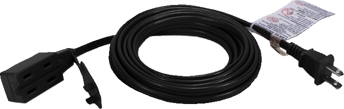 OnHand Extension Cord - Black 15ft BP