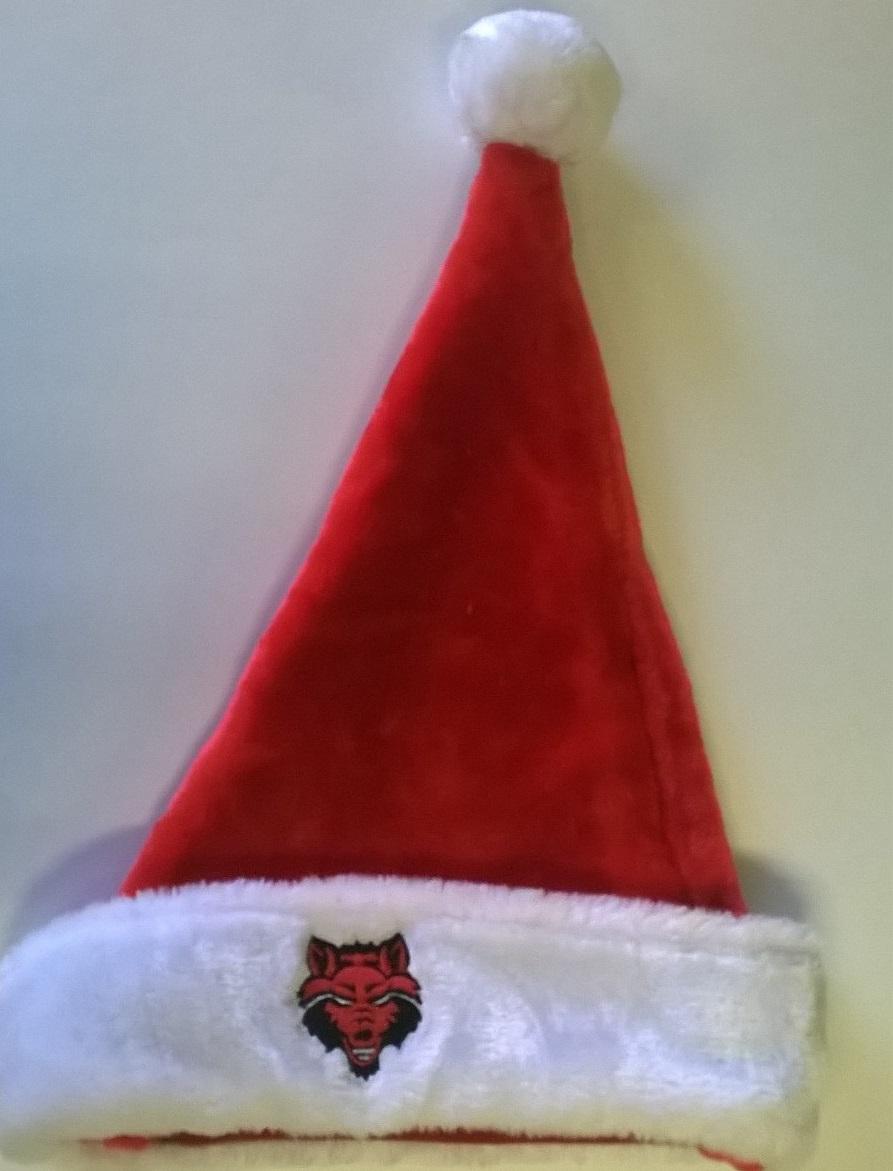 Red Wolves Santa Hat