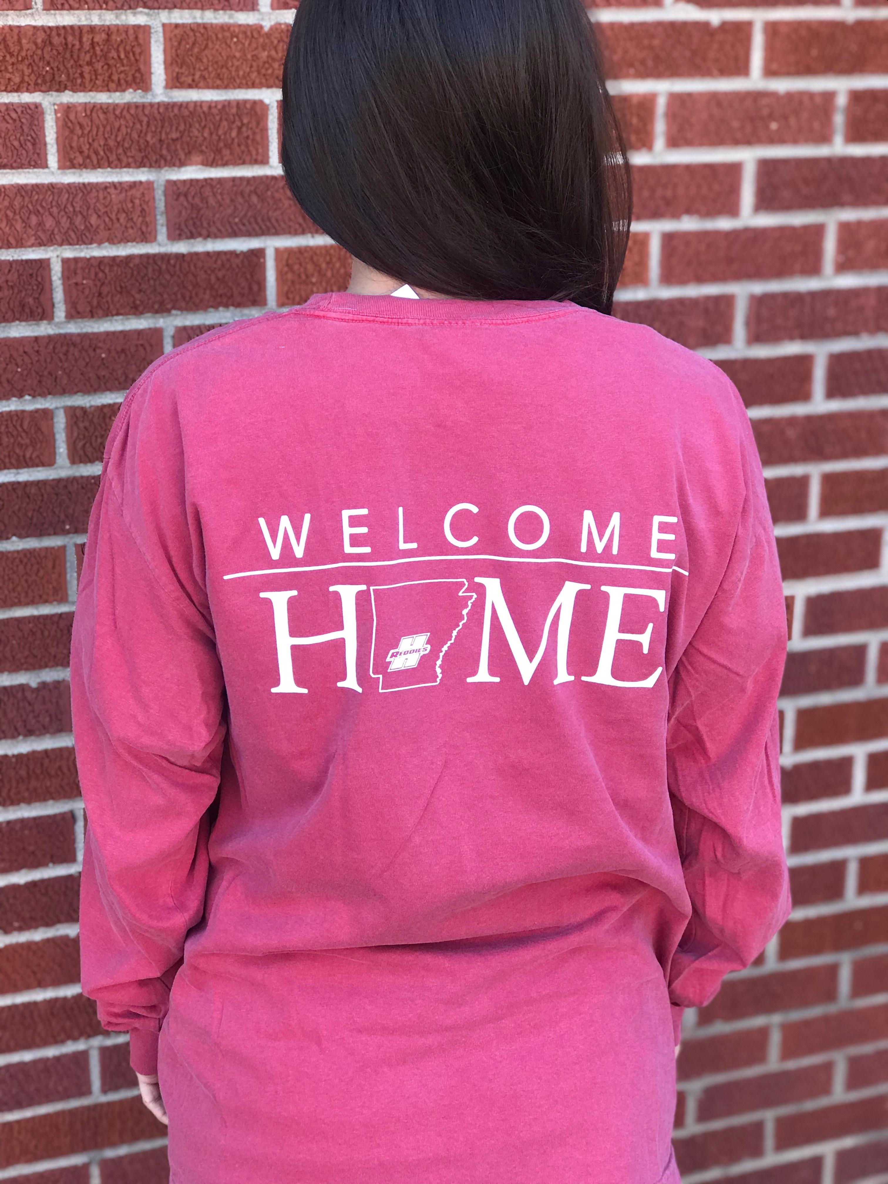 WELCOME HOME CC LS TEE