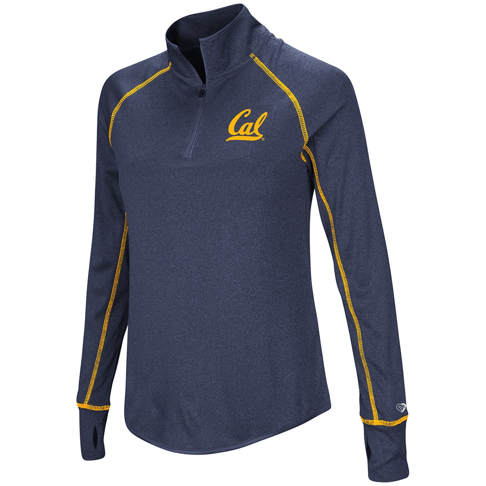 Cal Bears Women's Kit 1/4 Zip Pullover by Colosseum