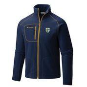Navy MC Shield Full Zip Fleece