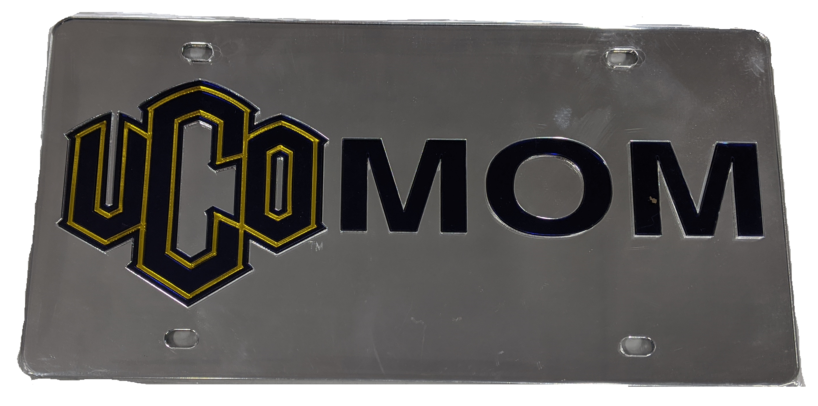 UCO Mom License Plate