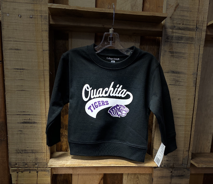 OUACHITA TIGERS TODDLER CREW