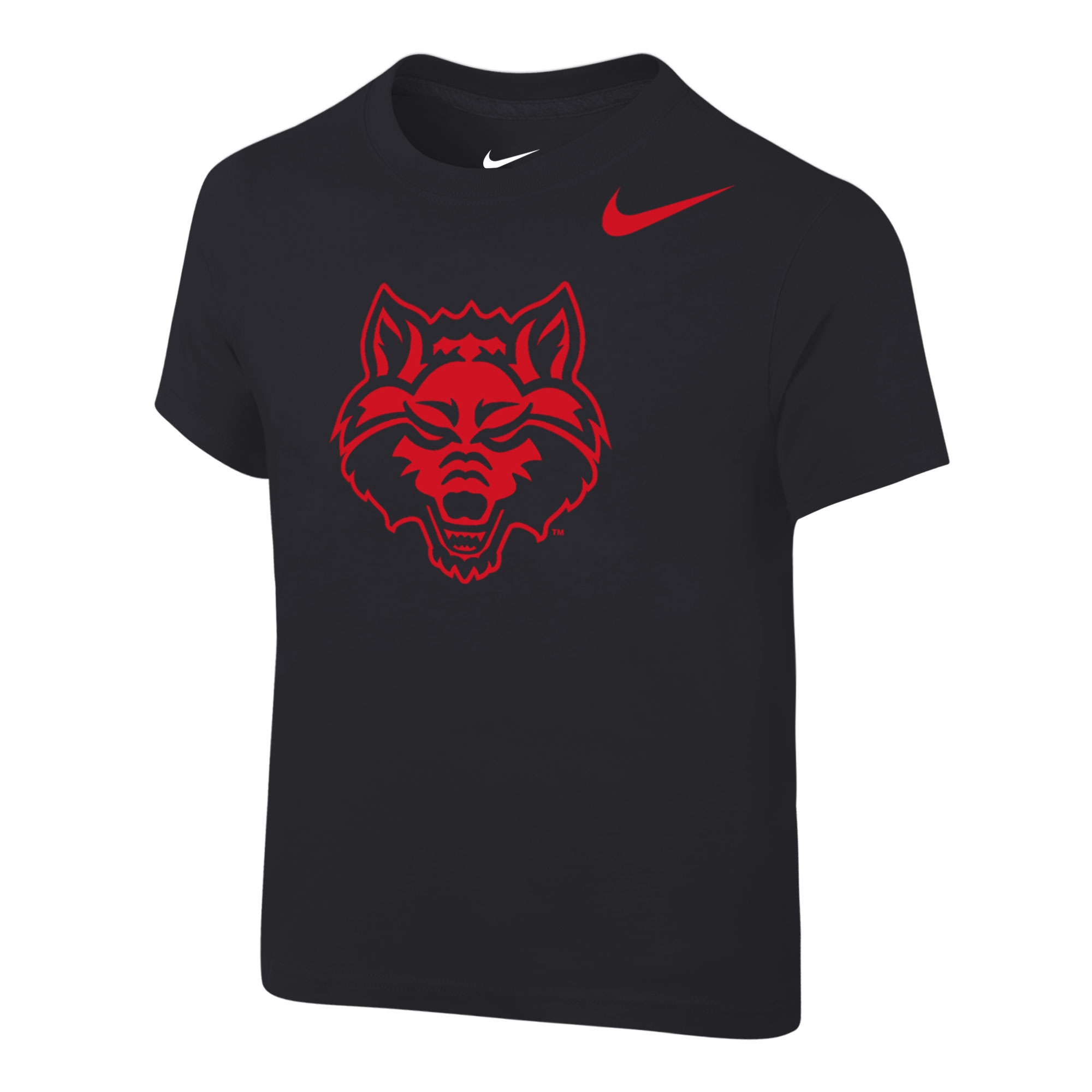 Red Wolves Toddler Cotton SS Tee