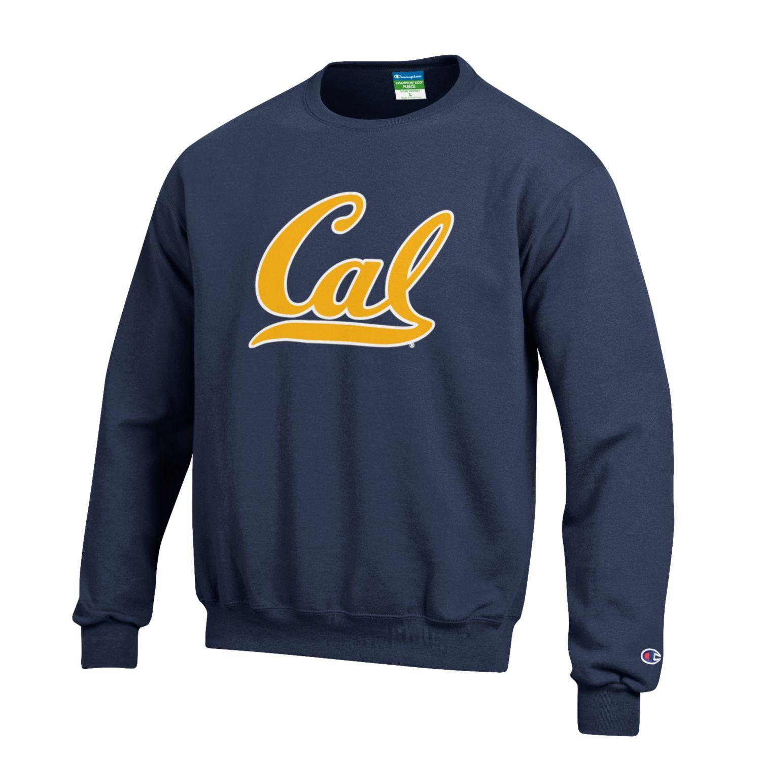 University of California Berkeley Versatwill Powerblend Fleece Crew Cal Logo