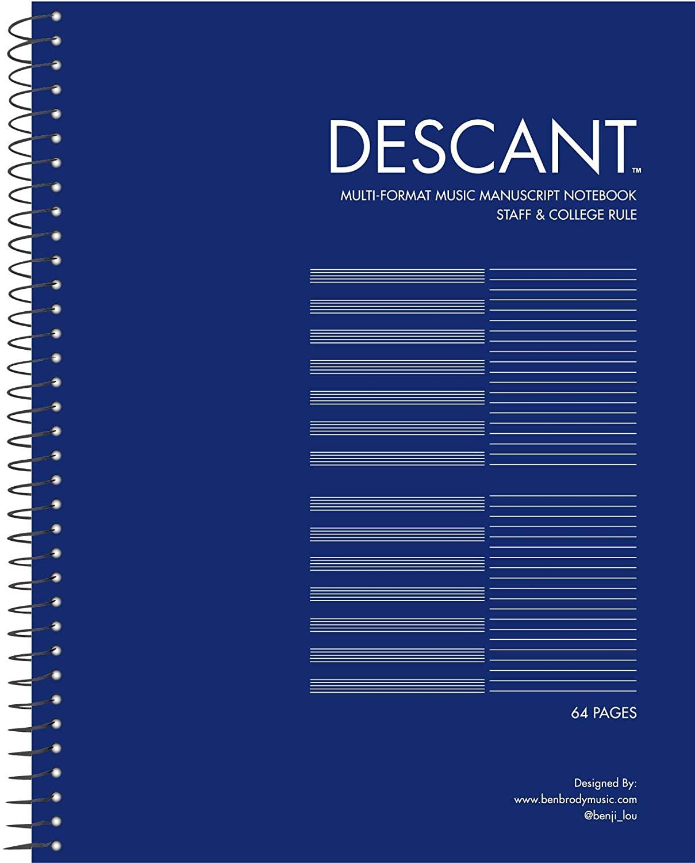 DESCANT MULTI-FORMAT MUSIC MANUSCRIPT