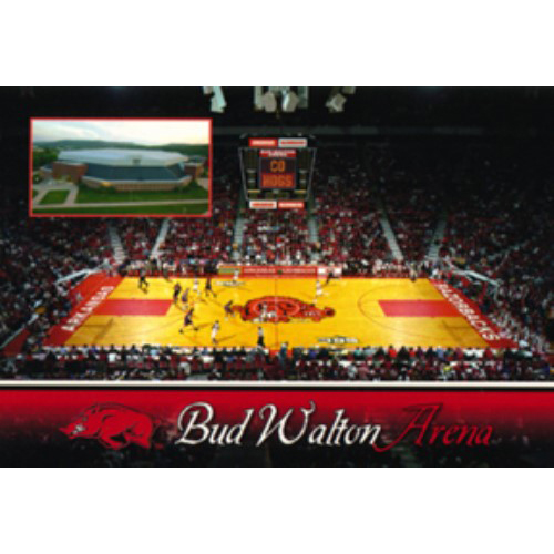 U-AR Postcard 12174 Bud Walton Arena