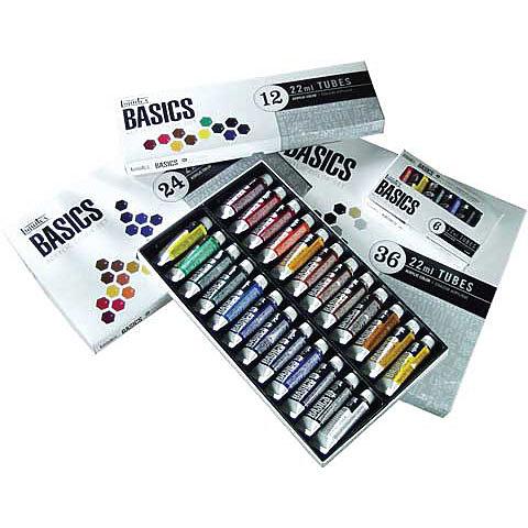 BASICS Acrylic Color Set 6-count