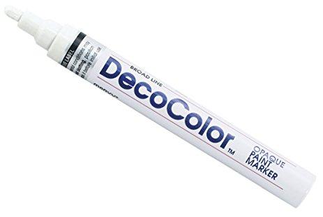 Decocolor Fine Paint Marker White