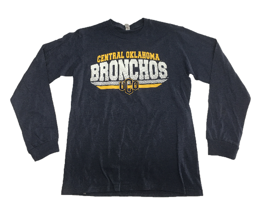 Central Oklahoma Bronchos Blackjack LS Tee