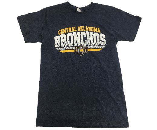 Central Oklahoma Bronchos Blackjack SS Tee