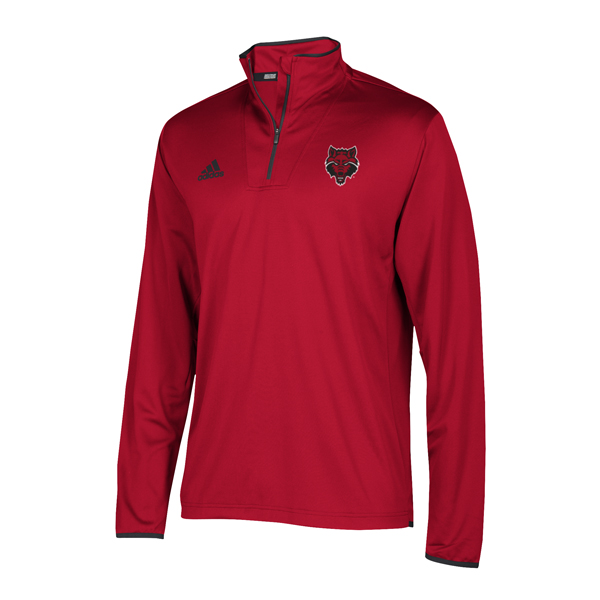 Arkansas State 1/4 Zip Knit Pull Over