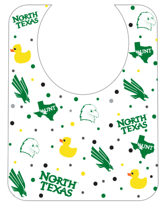 SUPER SOFT SUBLIMATED BABY BIB