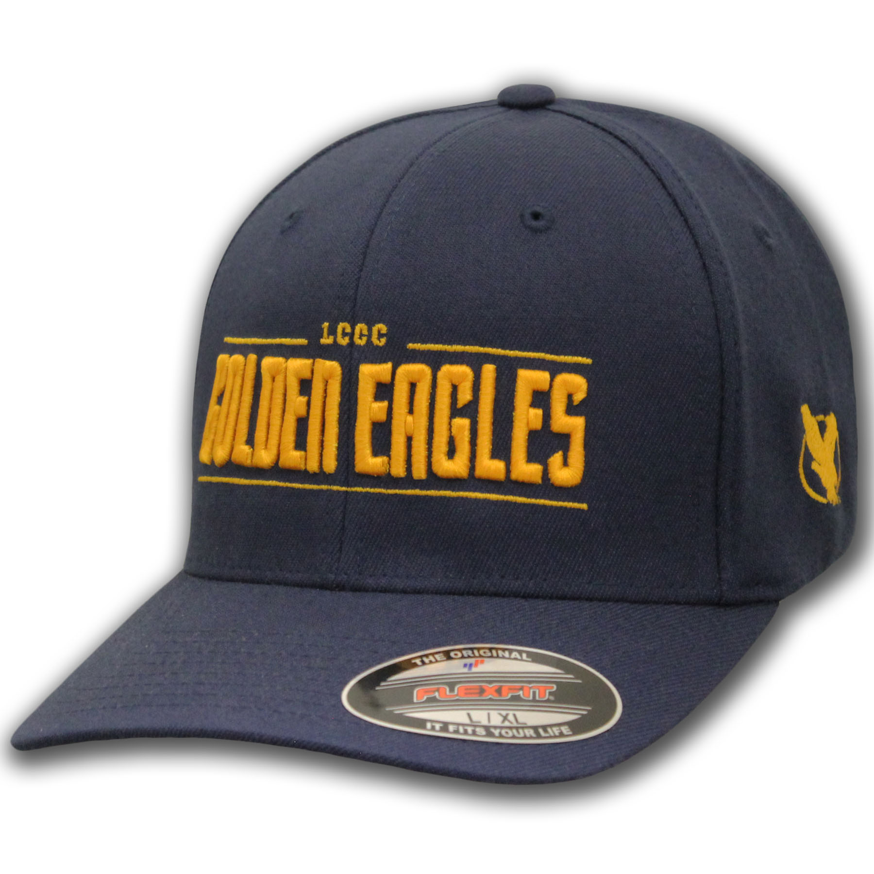 LCCC Golden Eagles Flexfit Hat