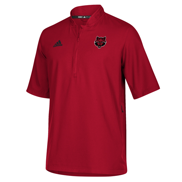 Arkansas State SS 1/4 Zip Pull Over