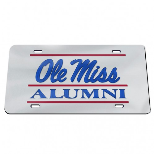 Alumni Mirror License Plate