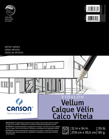 Vidalon Veluum Pad 11x14