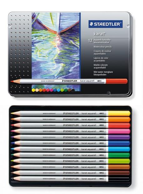 Karat Aquarell Watercolor Pencil Set 12 Piece