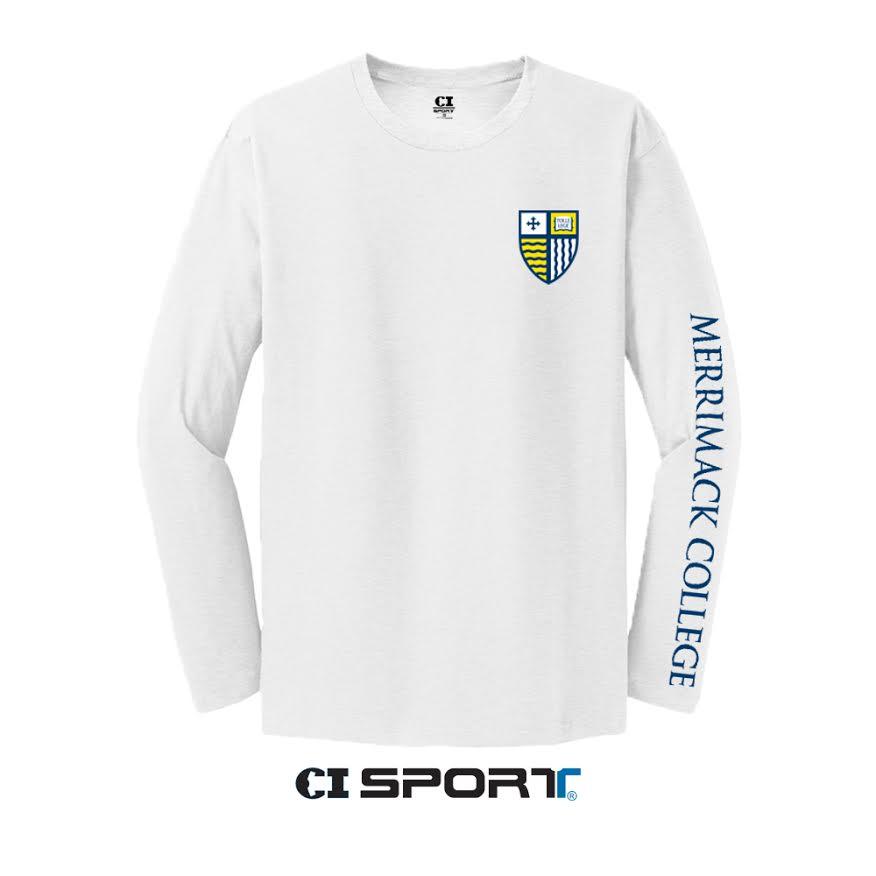 MC White Shield Long Sleeve Shirt