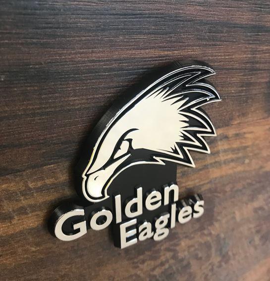 Golden Eagles Auto Emblem