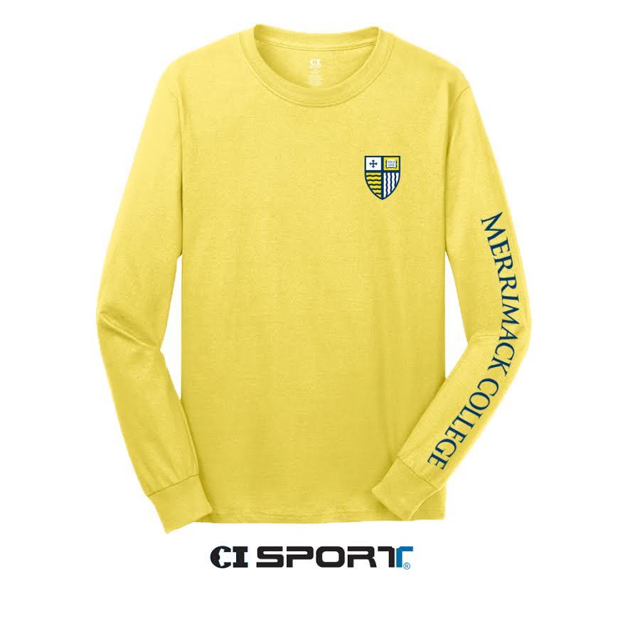MC Yellow Shield Long Sleeve Shirt