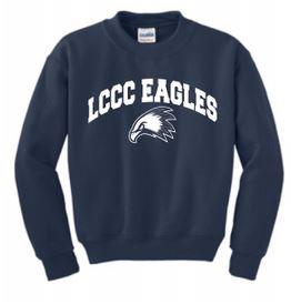 Youth LCCC Eagles Crew Sweatshirt