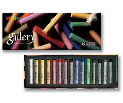 Gallery Soft Pastel 15 Piece Set