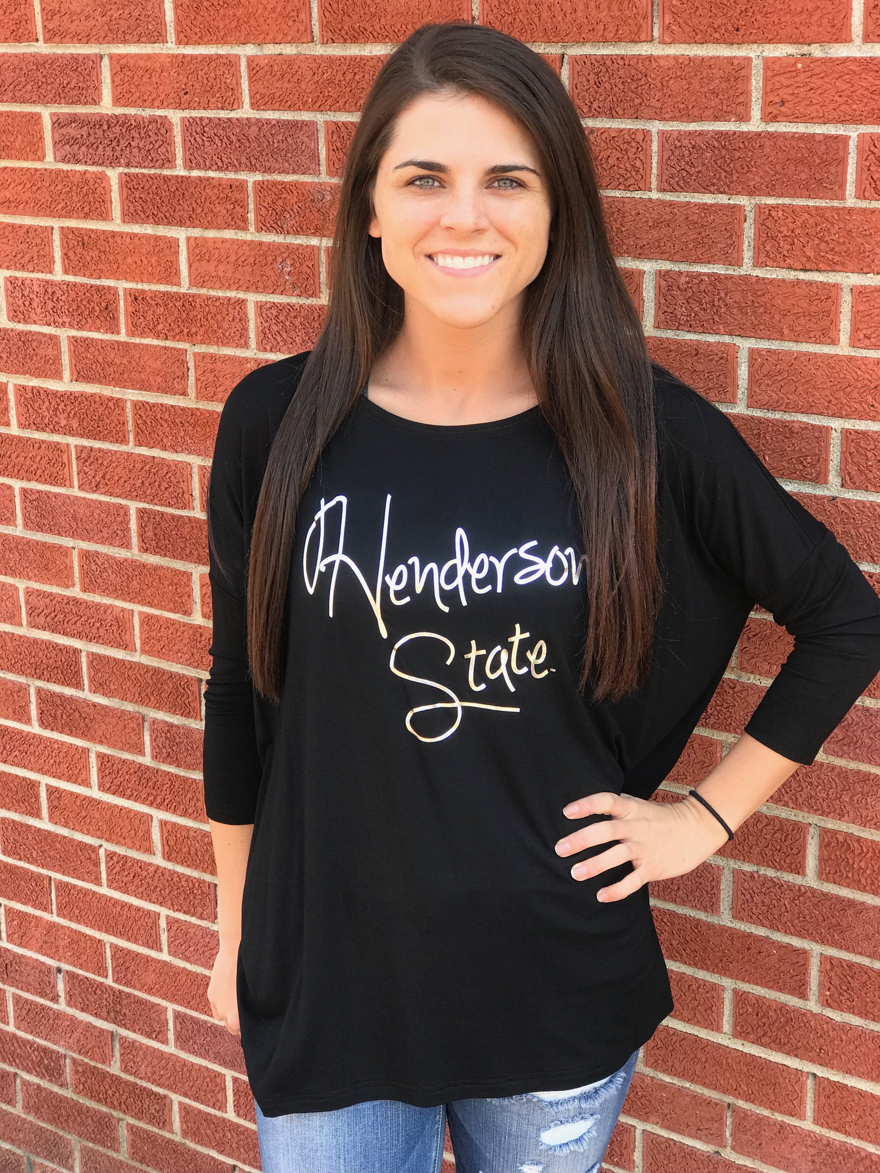 3/4 Sleeve Henderson/Reddies State Piko