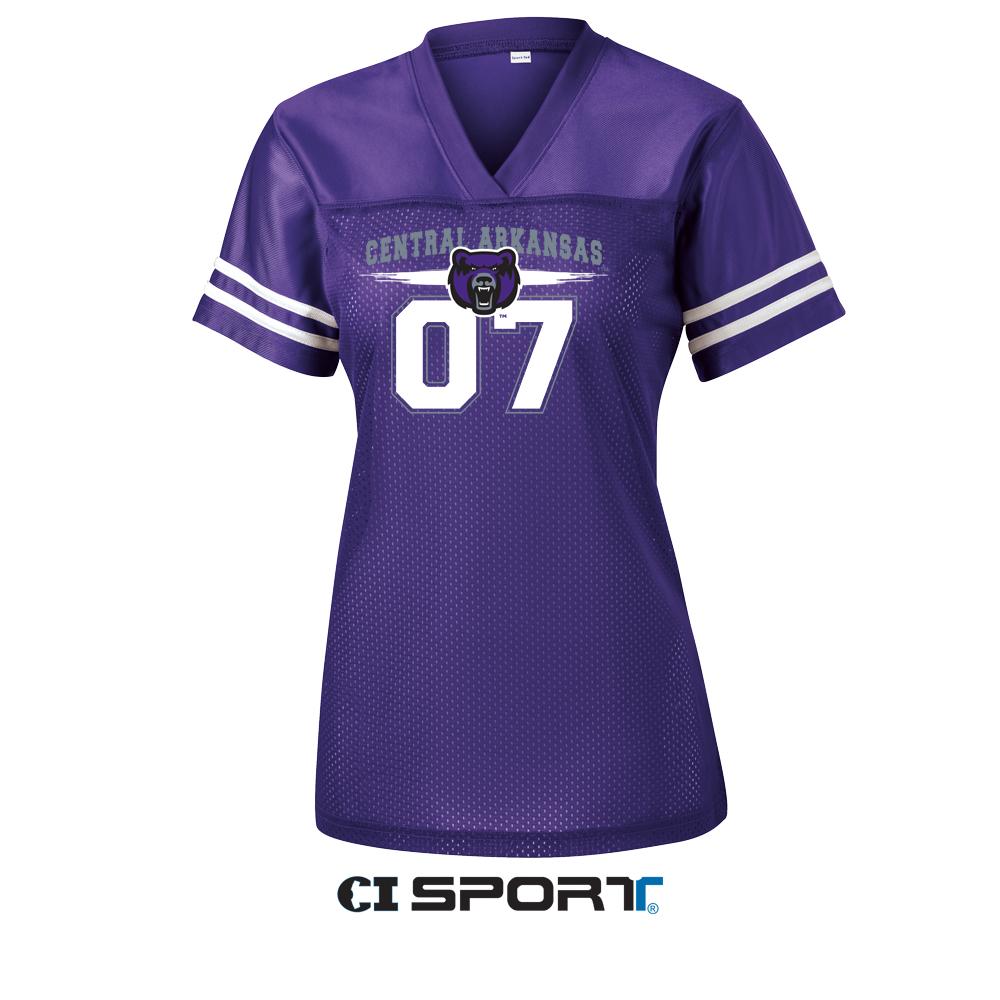 Ladies UCA Football Jersey