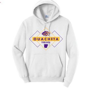 OUACHITA TIGERS DIAMOND HOODIE