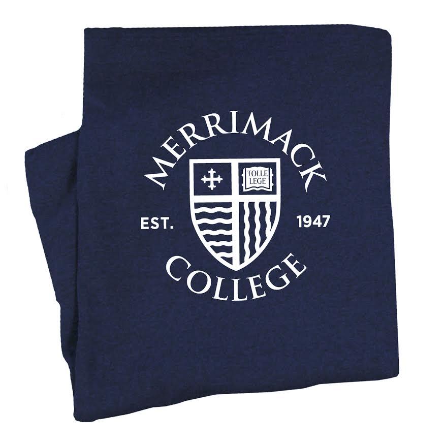 MC Hyper Blue Sweatshirt Blanket