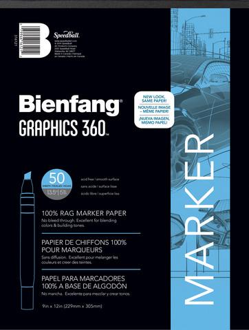 Bienfang Graphics 360 Marker Pad