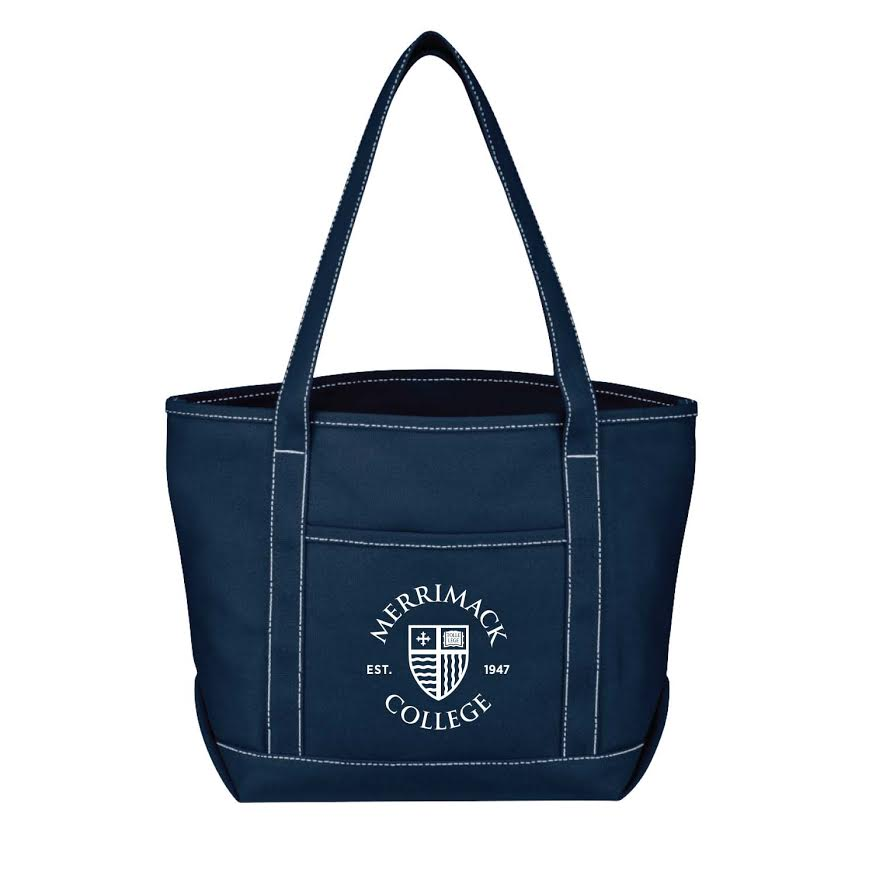 MC Shield Navy Yacht Tote