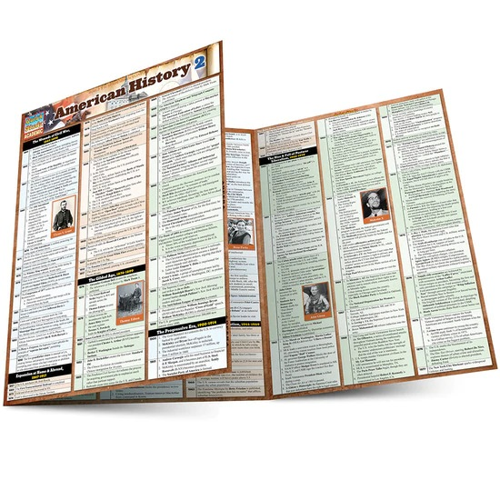 QuickStudy American History 2 Laminated Study Guide