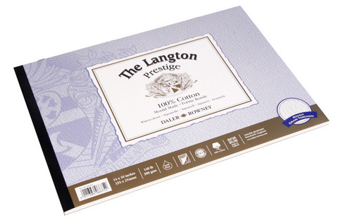 Langton Prestige Rough Watercolor Pad