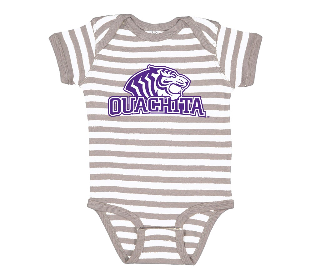 OUACHITA LOGO CREEPER ONESIE