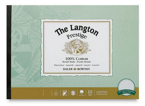 "Langton Prestige Watercolor Pad 20"" x 14"""