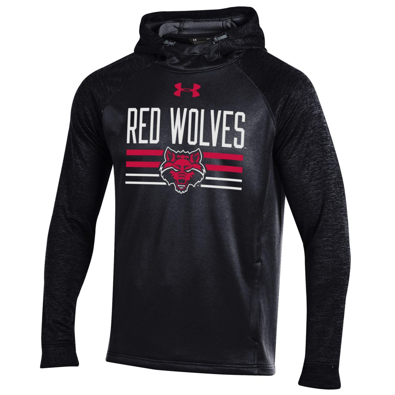 Red Wolves Threadborne Tech Terry Hood