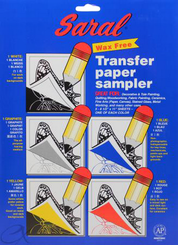 Saral Wax Free Transfer Paper 5 Pack