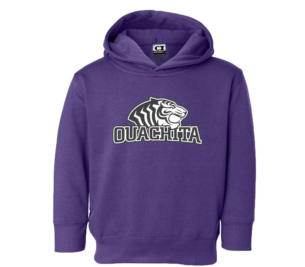 OUACHITA LOGO TODDLER HOOD