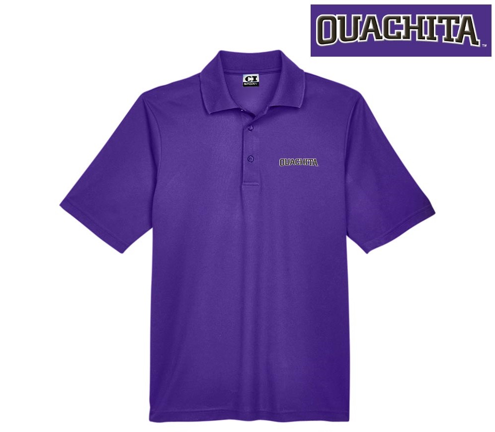 OUACHITA WORDMARK PIQUE POLO