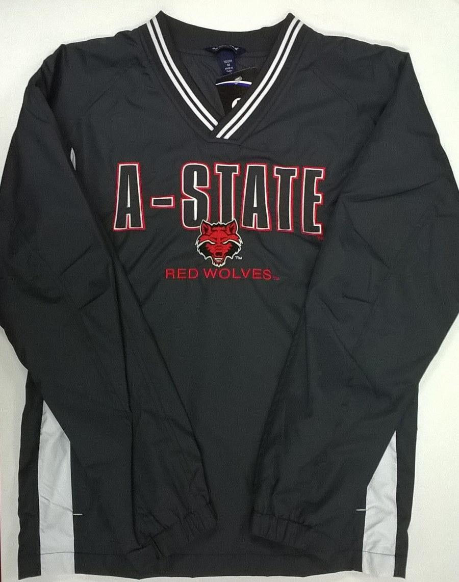 A-State Youth V Neck Windshirt