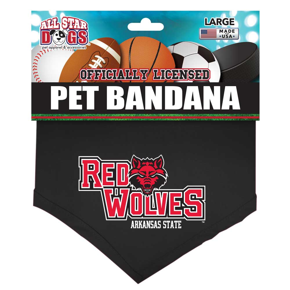 Arkansas State Pet Bandana