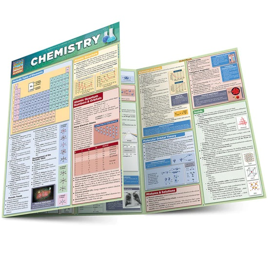 QuickStudy | Chemistry Laminated Study Guide