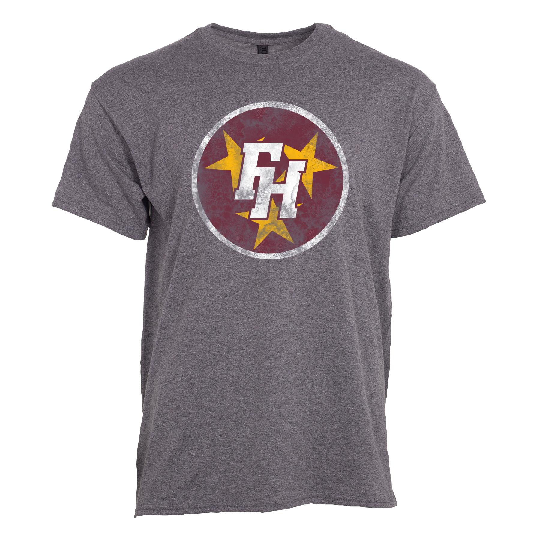 FHU Tri-Star Logo Tee