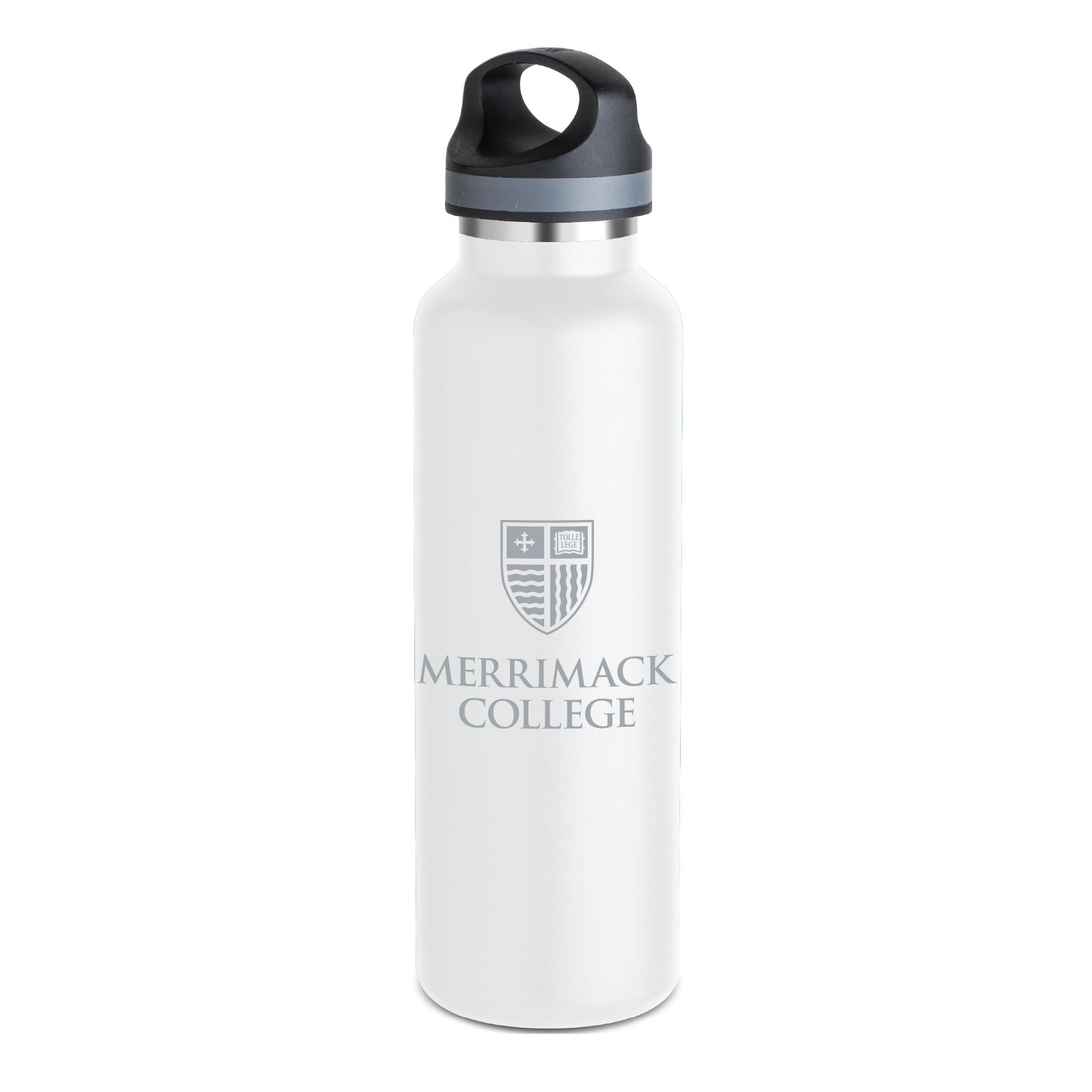 White Warrior Metal Bottle