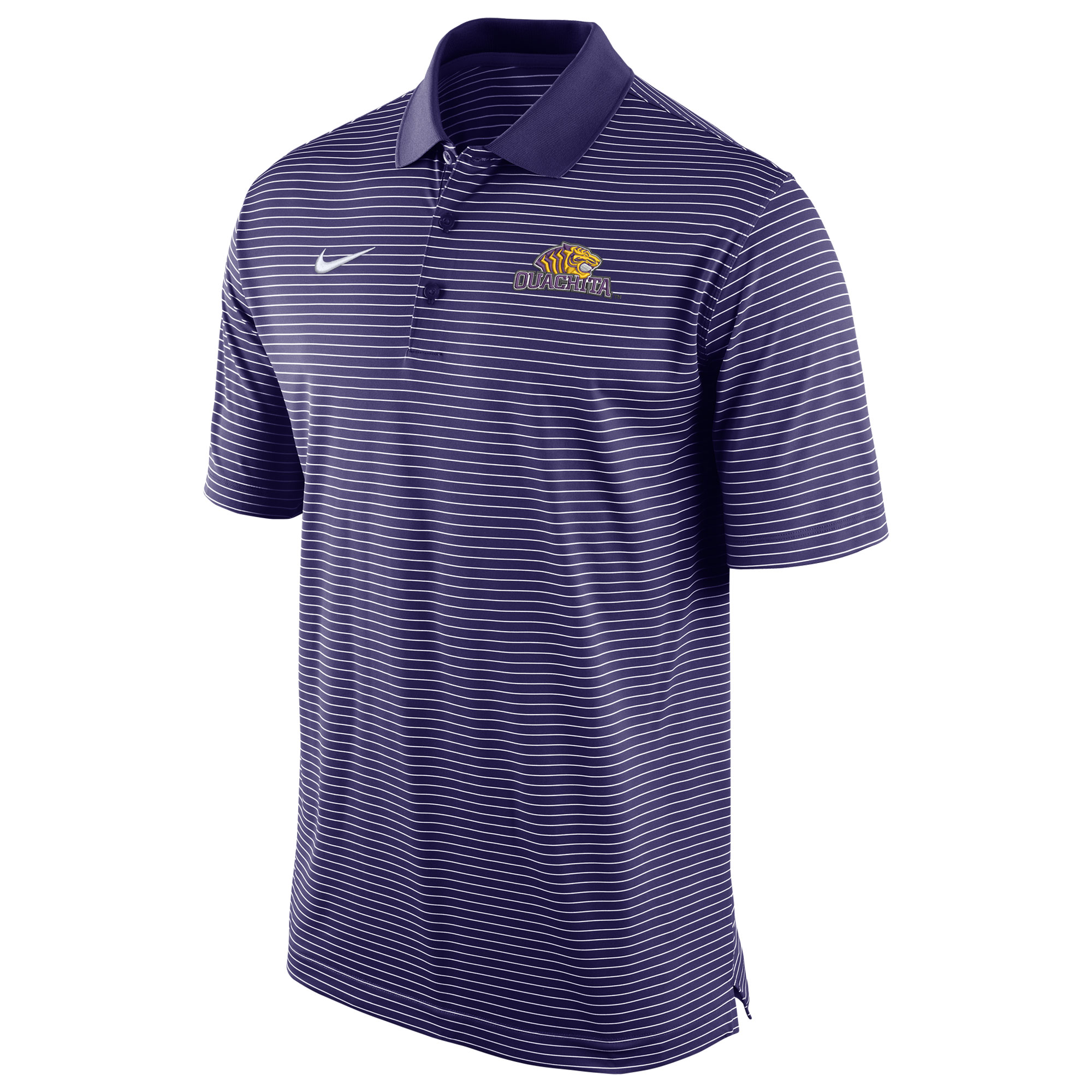 OUACHITA STADIUM STRIPE POLO