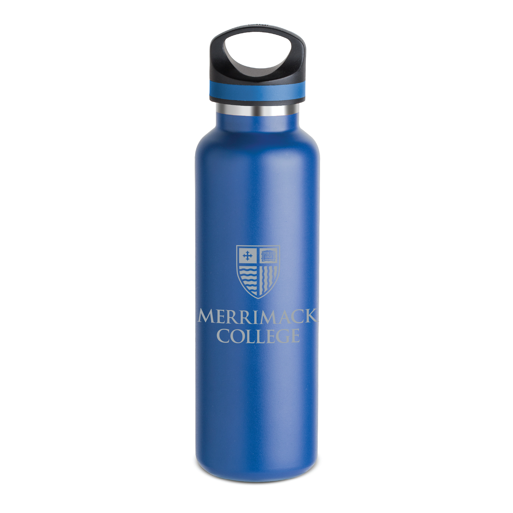 Blue Warrior Metal Bottle