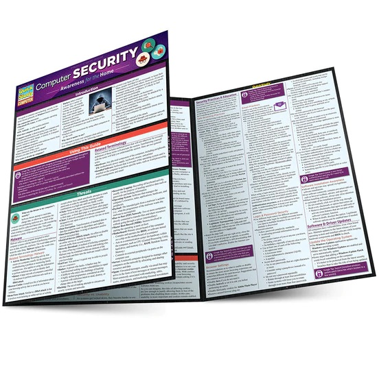 QuickStudy Computer Security Laminated Reference Guide